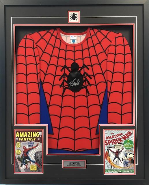 spiderman jersey frame